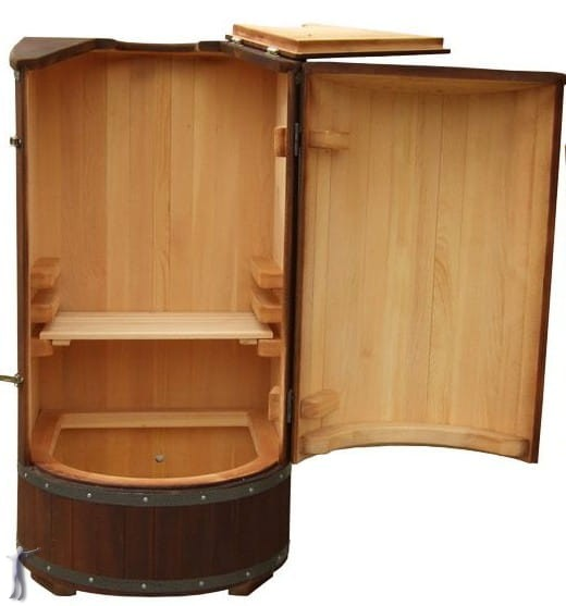 fito beczka cedrowa kompaktowa domowa mini sauna. Black Bedroom Furniture Sets. Home Design Ideas