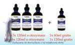 Krople TODA (3x120 ml + 60 ml GRATIS) - HEART of GOLD Formula by TODA™