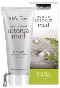 Rotorua Mud Face Pack with Manuka Honey - Maska do twarzy z Błotem Termalnym i Miodem Manuka (95ml)