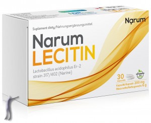 Narum+ Lecitin 200 mg (30 kapsułek)