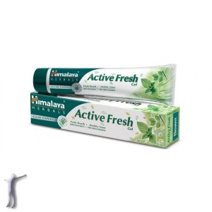 Pasta do zębów Himalaya Herbals Active Fresh Gel (80g)